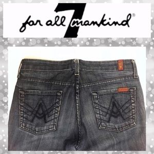 7 For All Mankind A Pocket Stretch Bootcut Jeans